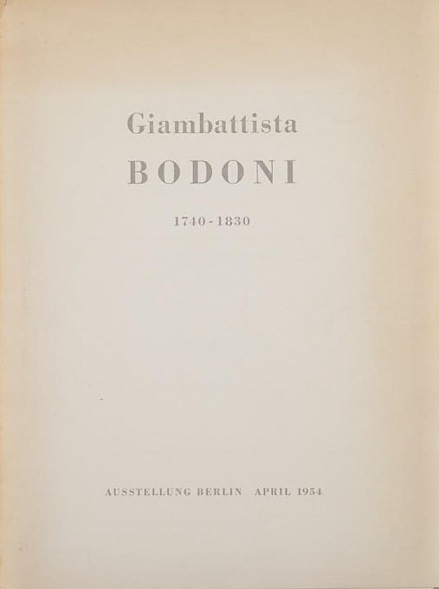 Giambattista Bodoni 1740 – 1830