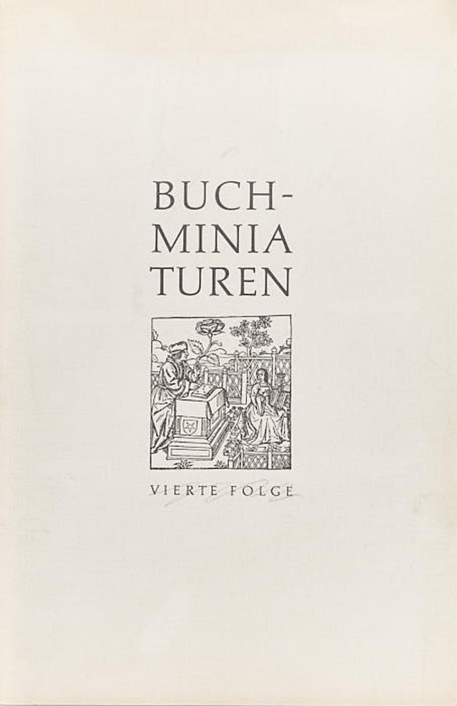 Buch-Miniaturen. Folge 4