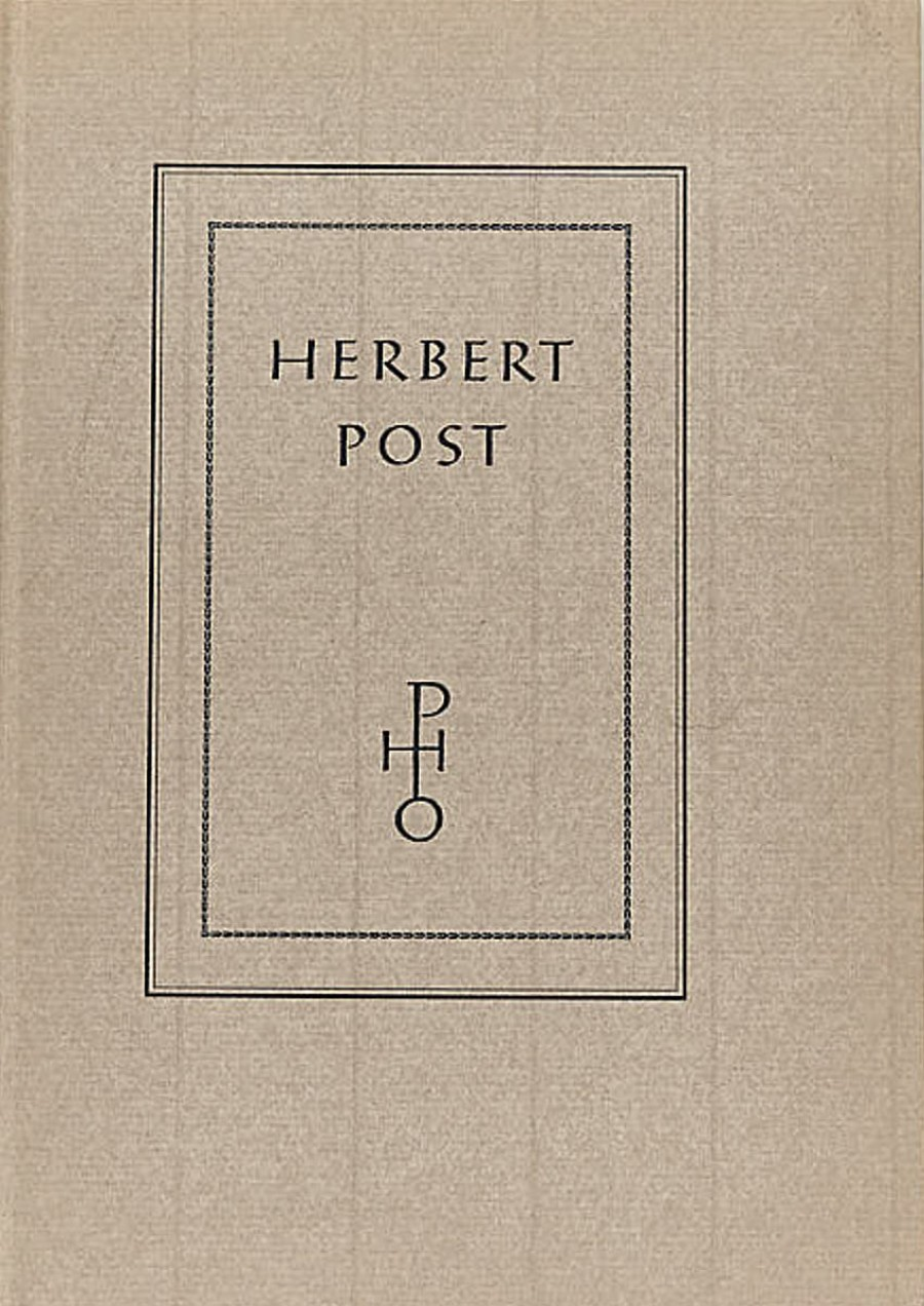 Rudolf Adolph:Herbert Post
