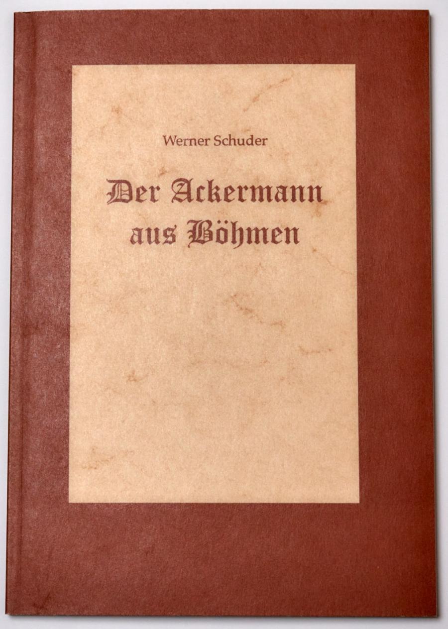 Werner Schuder:Der Ackermann aus Böhmen
