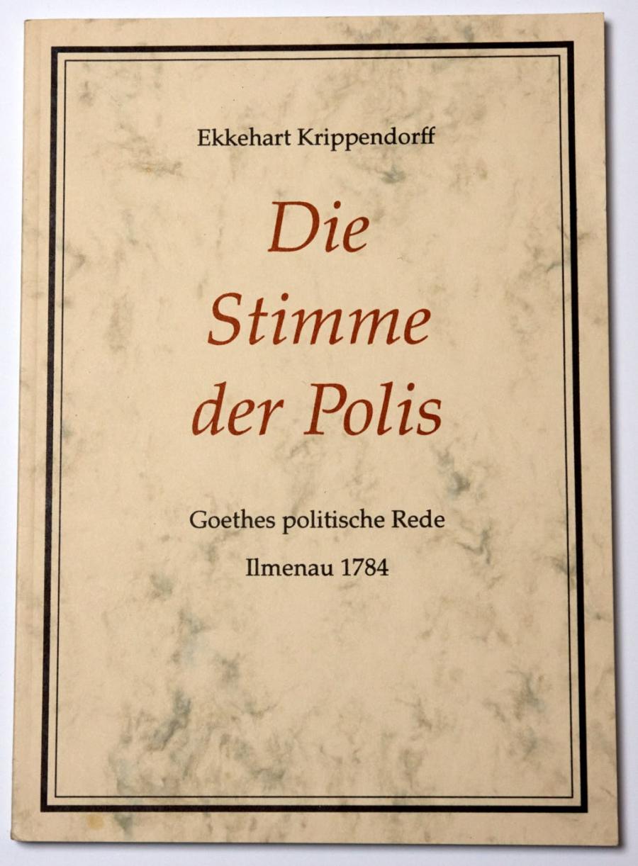 Ekkehart Krippendorff:Die Stimme der Polis