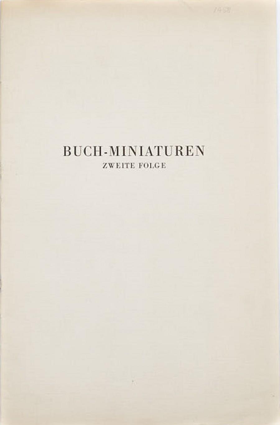 Buch-Miniaturen. Folge 2