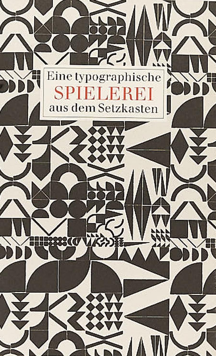 Hans-Joachim Schauß (Hrsg.):Eine typographische Spielerei aus dem Setzkasten